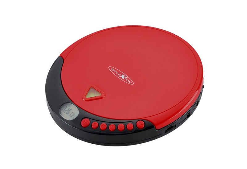Reflexion »Reflexion PCD510MF Tragbarer Discman CD/MP3-Player mit UKW-Radio (Hörbuchfunktion, Ohrhörer, Netz oder Batteriebetrieb)« tragbarer CD-Player