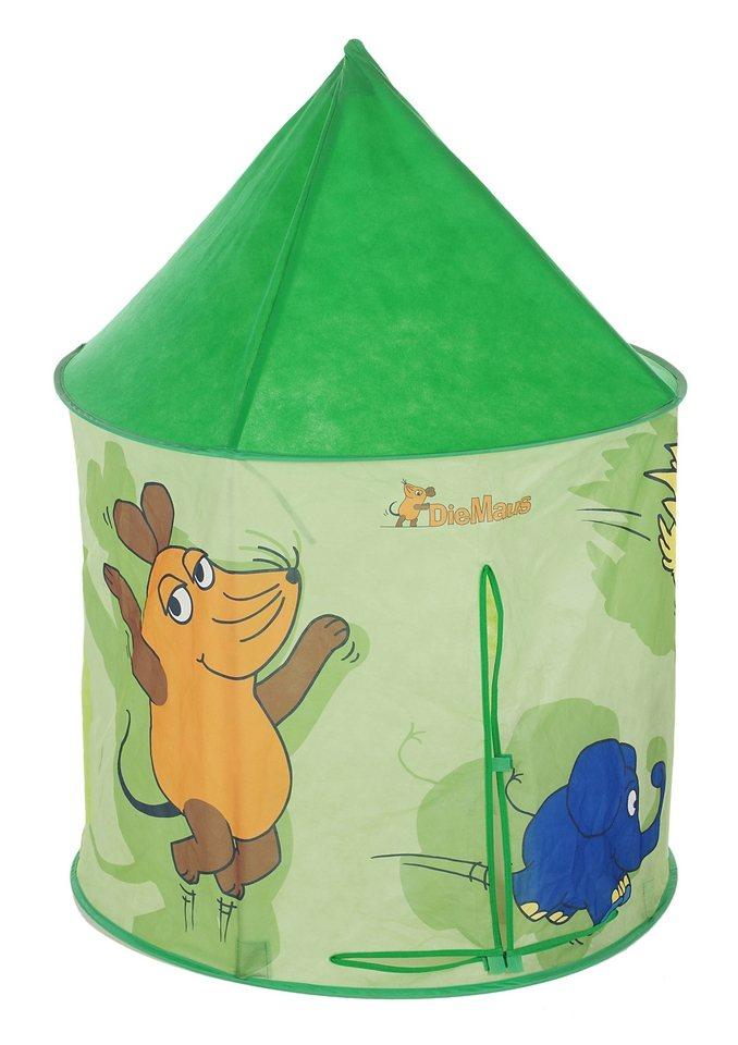 Royalbeach® Pop-Up Kinderhaus »Die Maus« in grün