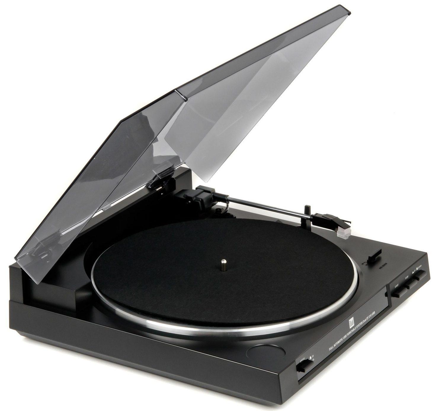 Dual DT 210 USB-Plattenspieler, Schallplattendigitalisierer