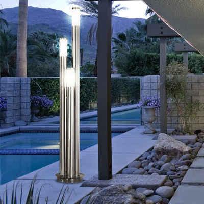 etc-shop Sockelleuchten, 21 Watt LED Außenlampe Gartenleuchte IP44 Außenbeleuchtung Terrassen Beleuchtung