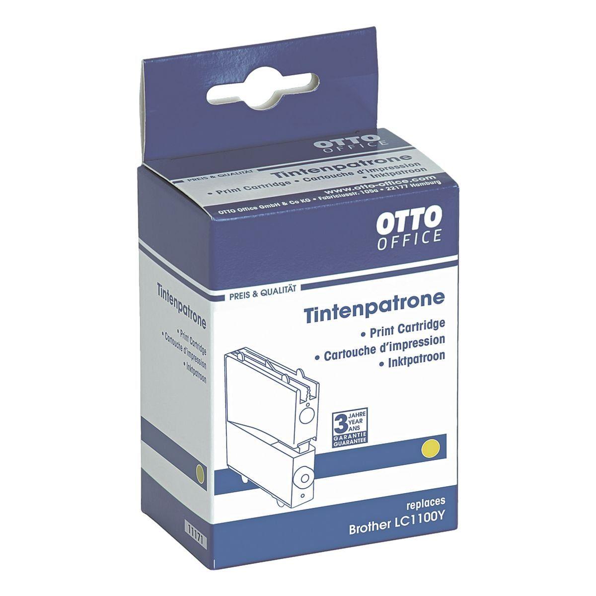 OTTO Office Standard Tintenpatrone ersetzt Brother »LC1100Y«