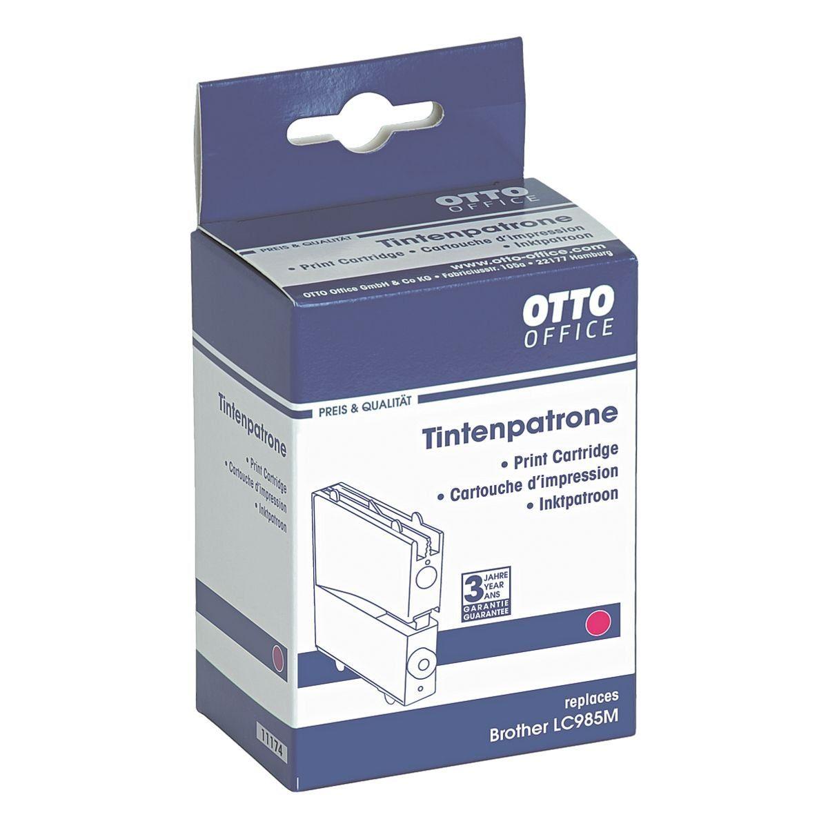 OTTO Office Standard Tintenpatrone ersetzt Brother »LC985M«