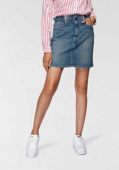 Pepe Jeans Jeansrock »MAISIE« mit gerafftem Bund in toller Waschung