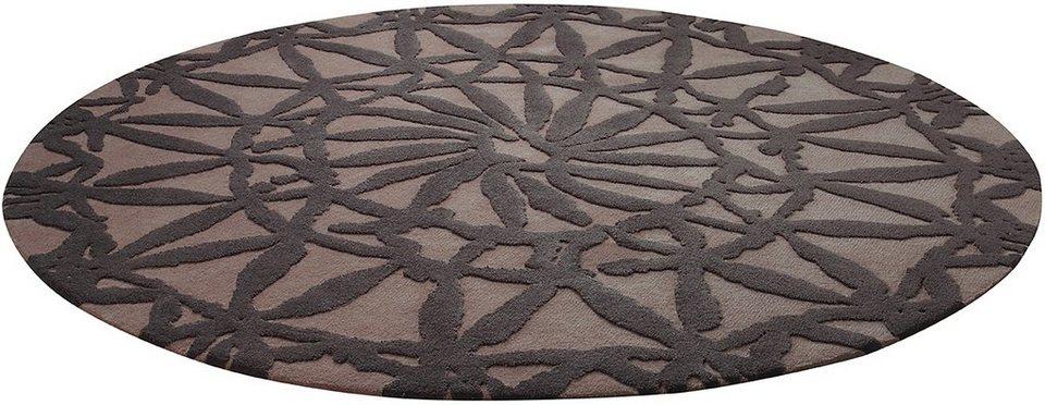 Teppich, Esprit, »Oriental Lounge«, handgearbeitet in taupe-braun