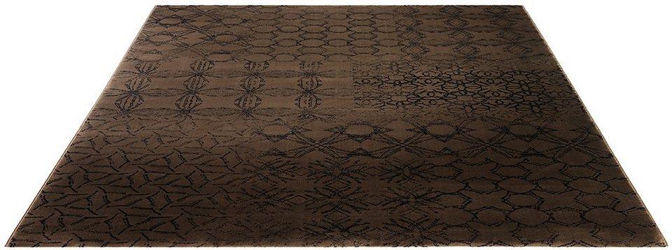 Teppich, Esprit, »Hamptons« in braun-schwarz