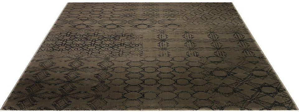 Teppich, Esprit, »Hamptons« in taupe-dunkelbraun