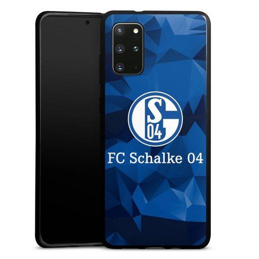 DeinDesign Handyhülle »Schalke 04 Camo« Samsung Galaxy S20 Plus, Hülle FC Schalke 04 Muster Offizielles Lizenzprodukt