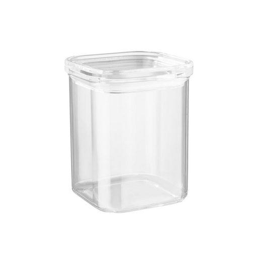 BUTLERS Vorratsglas »CLEARANCE Vorratsdose quadratisch 1100ml«, AS, Acryl, Silikon