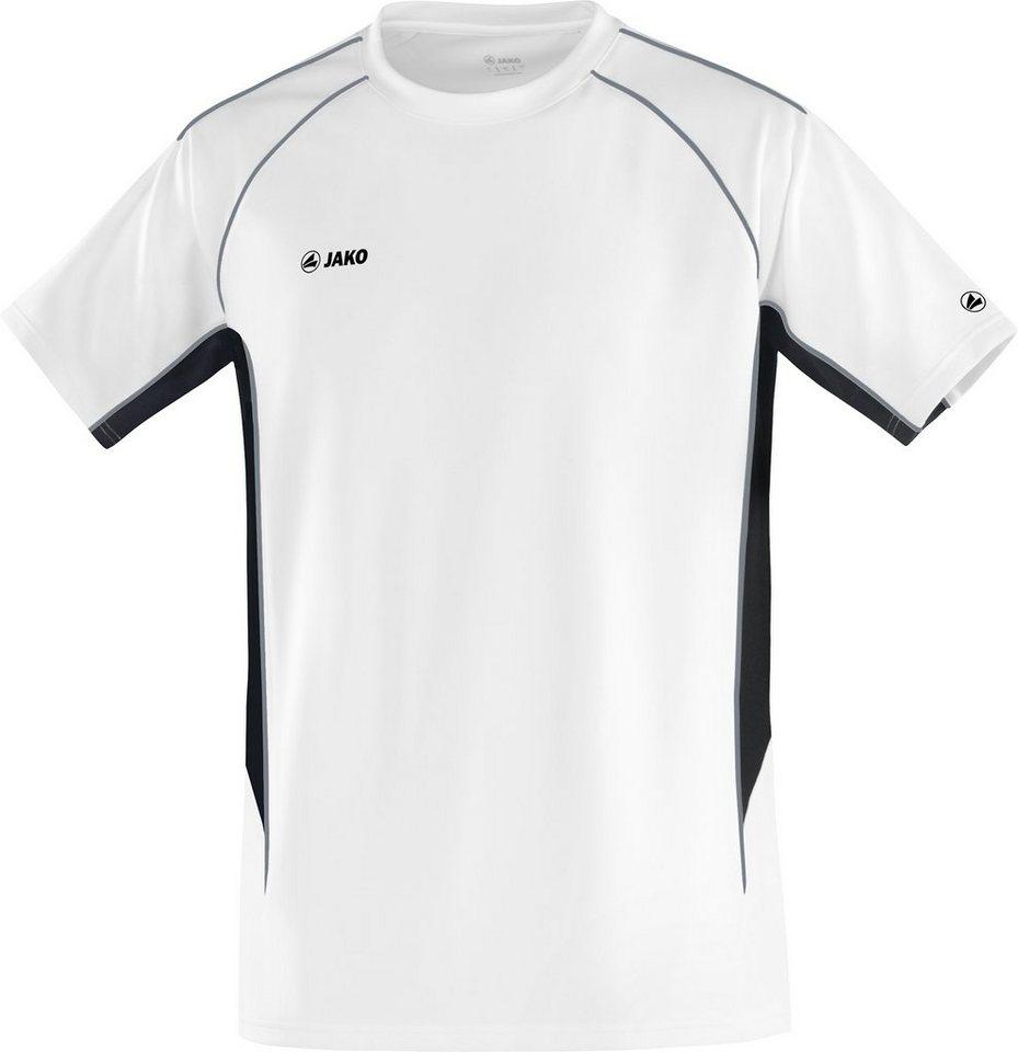 JAKO T-Shirt Attack 2.0 Herren in weiß/schwarz