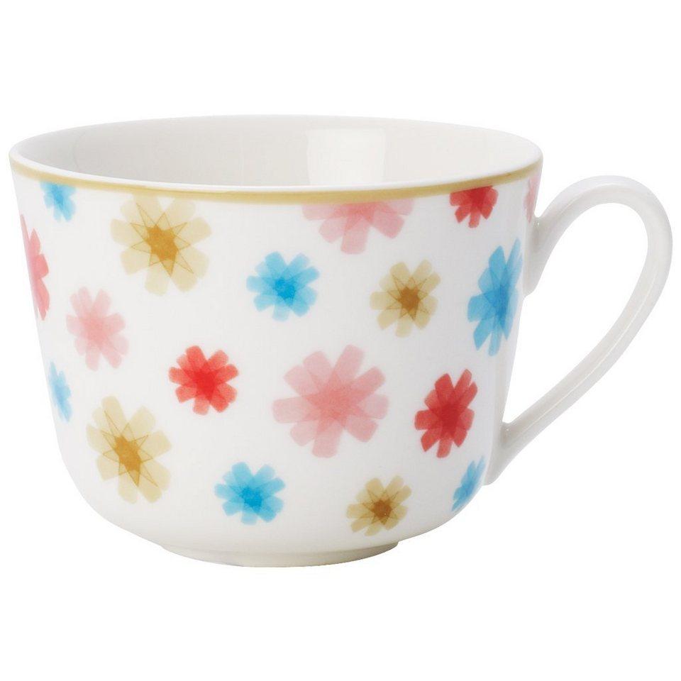 VILLEROY & BOCH Kaffee-/Teeobertasse »Lina Floral« in Dekoriert