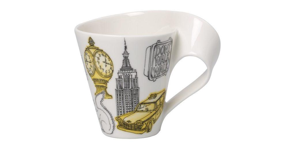 VILLEROY & BOCH Becher mit Henkel New York »Cities of the World«