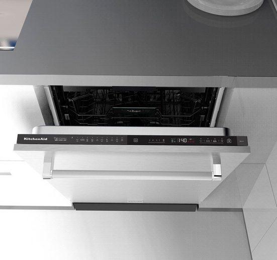 KitchenAid vollintegrierbarer Geschirrspüler, KDSDM 82142 NE, 9,5 l, 14 Maßgedecke