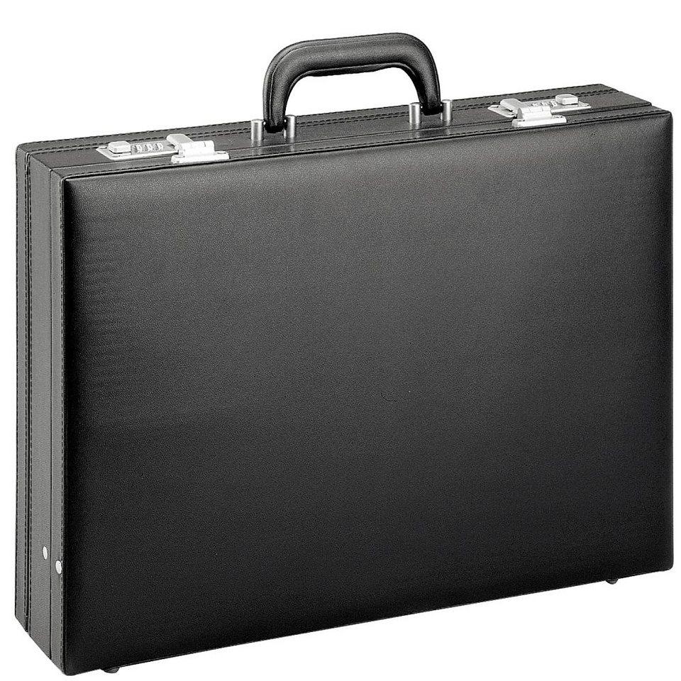 d & n Tradition Aktenkoffer 44 cm in schwarz