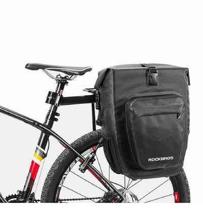 Wolfgo Packtasche-25L wasserdichte Mountain Road Fahrrad Fahrradtr/äger R/ücksitz Hecktr/äger Kofferraum Doppelpacktasche