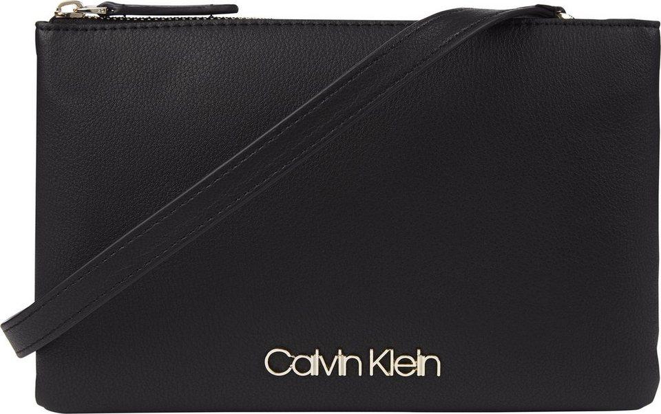 Calvin Klein Mini Bag »CK MUST EW CROSSBODY DOUBLE«, mit goldfarbenen Details online kaufen | OTTO