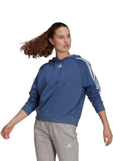 adidas Performance Kapuzensweatshirt »WOMEN 3-STRIPES HOODIE«