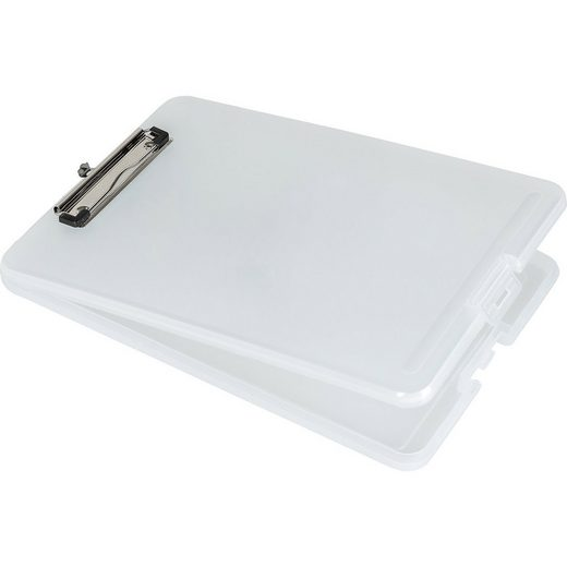 Idena Schreibtisch »Klemmbrett-Box, weiß«