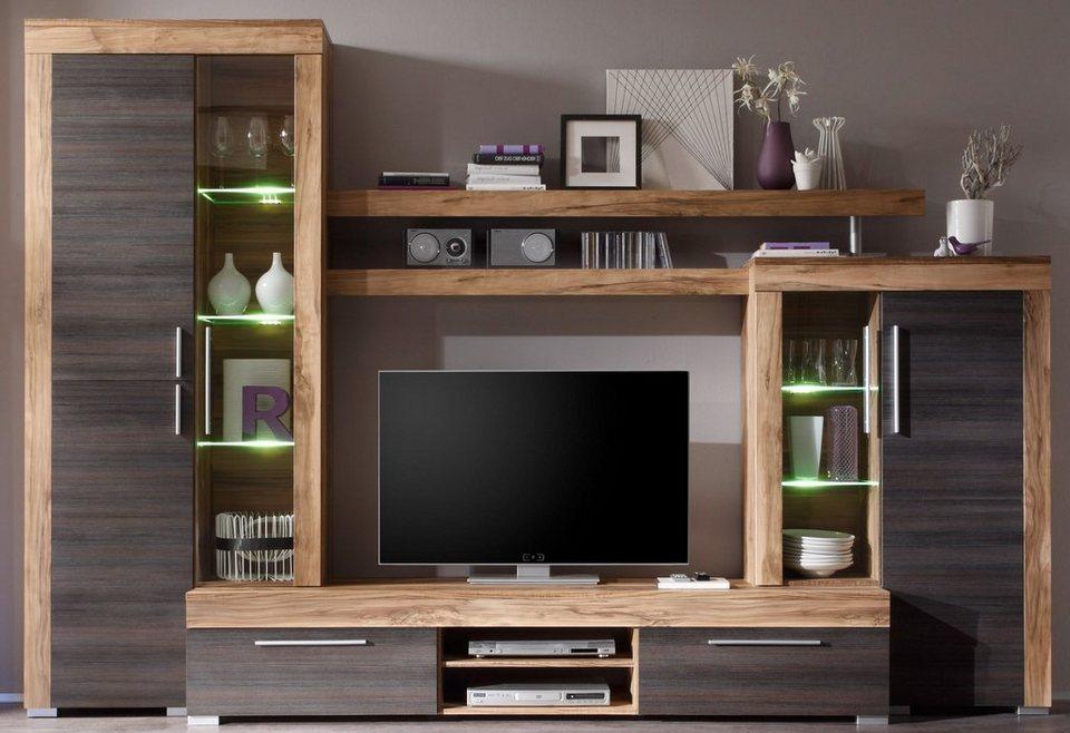 trendteam wohnwand boom 5 tlg online kaufen otto. Black Bedroom Furniture Sets. Home Design Ideas