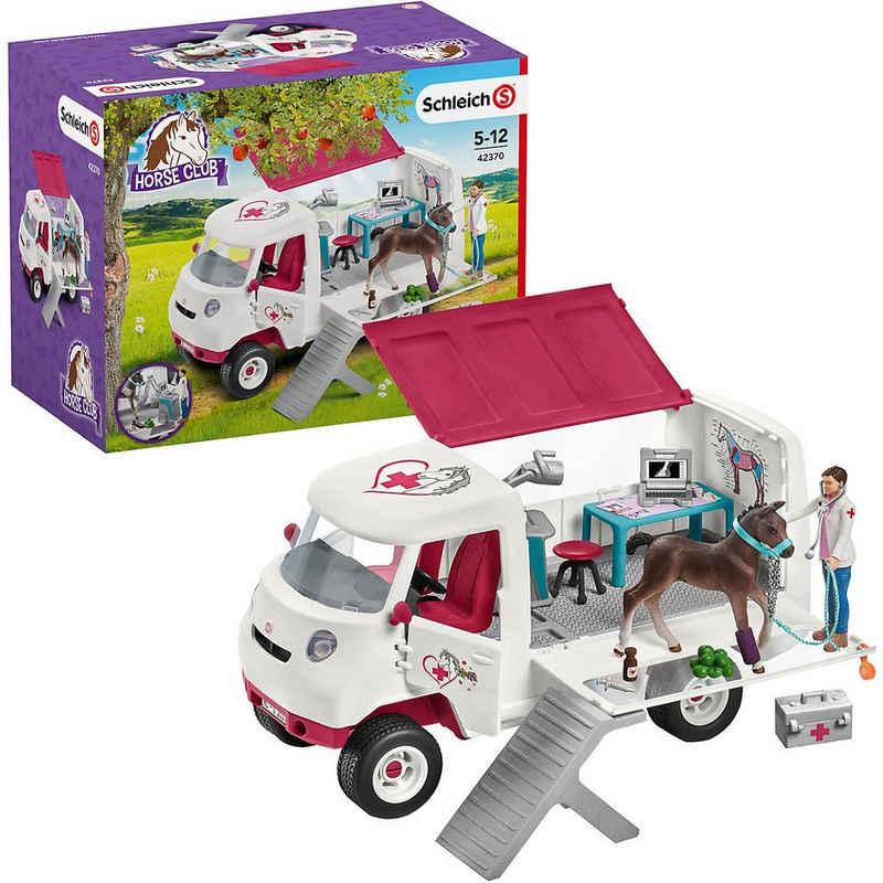 Schleich® Spielfigur »Schleich 42370 Horse Club: Mobile Tierärztin mit«