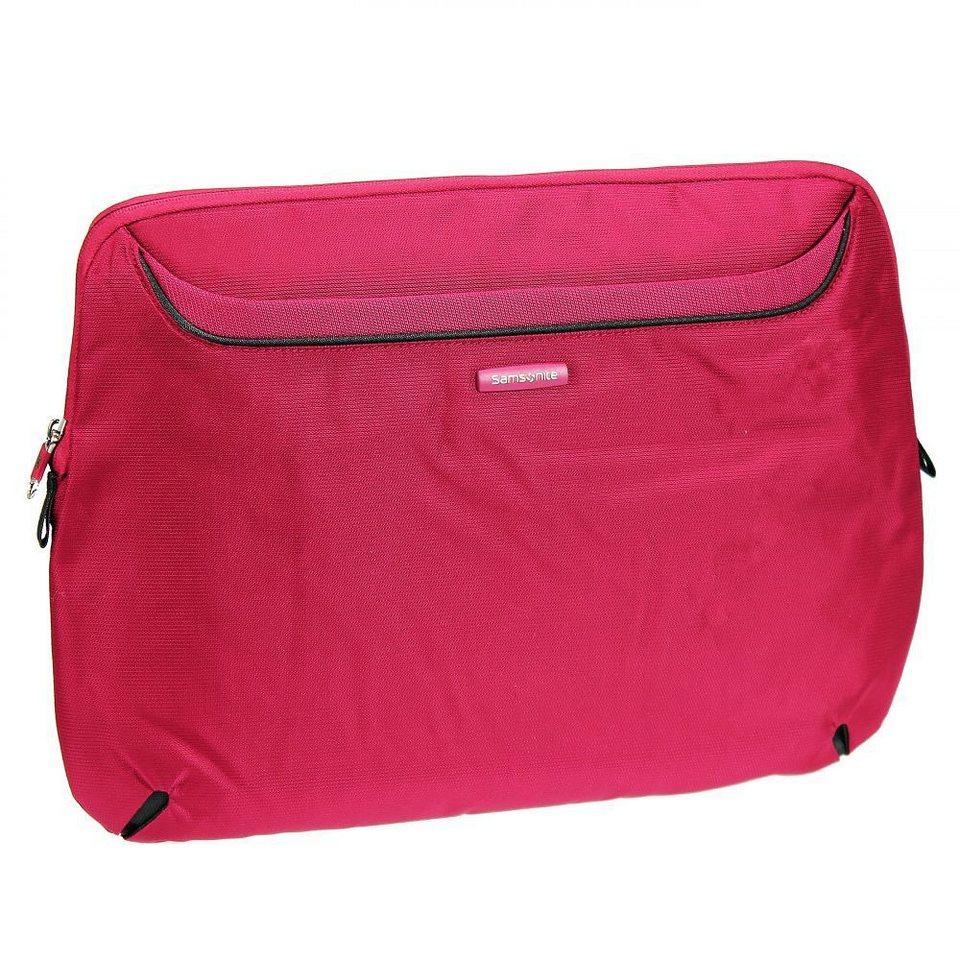 Samsonite B-Lite Fresh Laptophülle 44 cm in raspberry