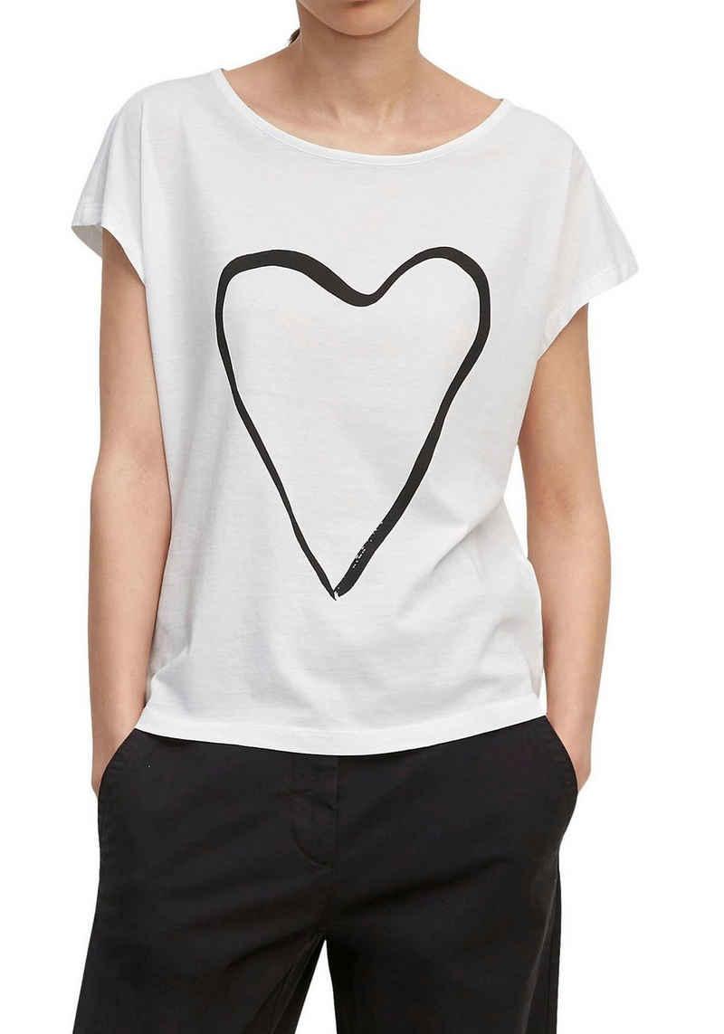Marc O'Polo T-Shirt mit großem Print vorne