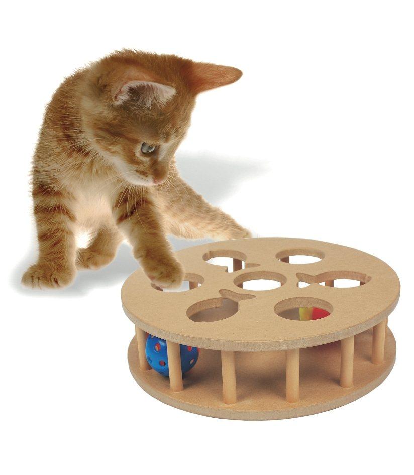 Katzenspielzeug »Cat IQ Trainingsspiel« in natur