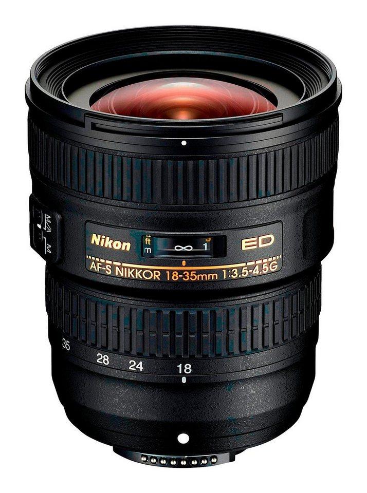Objektive - Nikon »AF S NIKKOR« Weitwinkelobjektiv  - Onlineshop OTTO