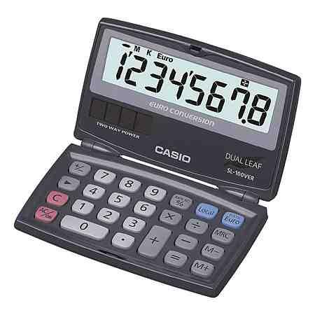 CASIO Taschenrechner »SL-100VER«