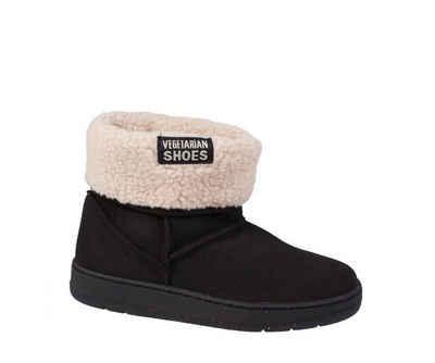 Vegetarian Shoes »Vegetarian Shoes Snugge Boot Black« Schlupfboots Vegan