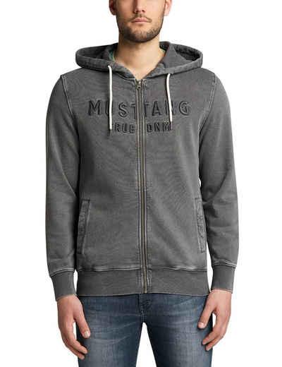 MUSTANG Sweatshirt »Brian Jacket Embro«