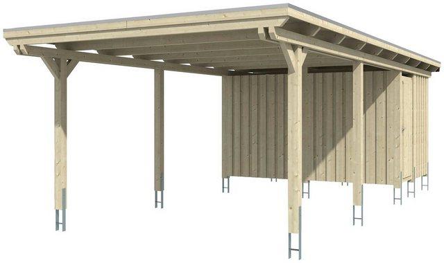 Skanholz Einzelcarport »Emsland«| 223 cm Einfahrtshöhe | Baumarkt > Garagen und Carports | Skanholz