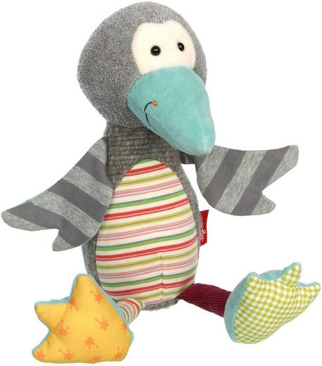Sigikid Kuscheltier »Patchwork Sweety Pinguin«, Made in Europe