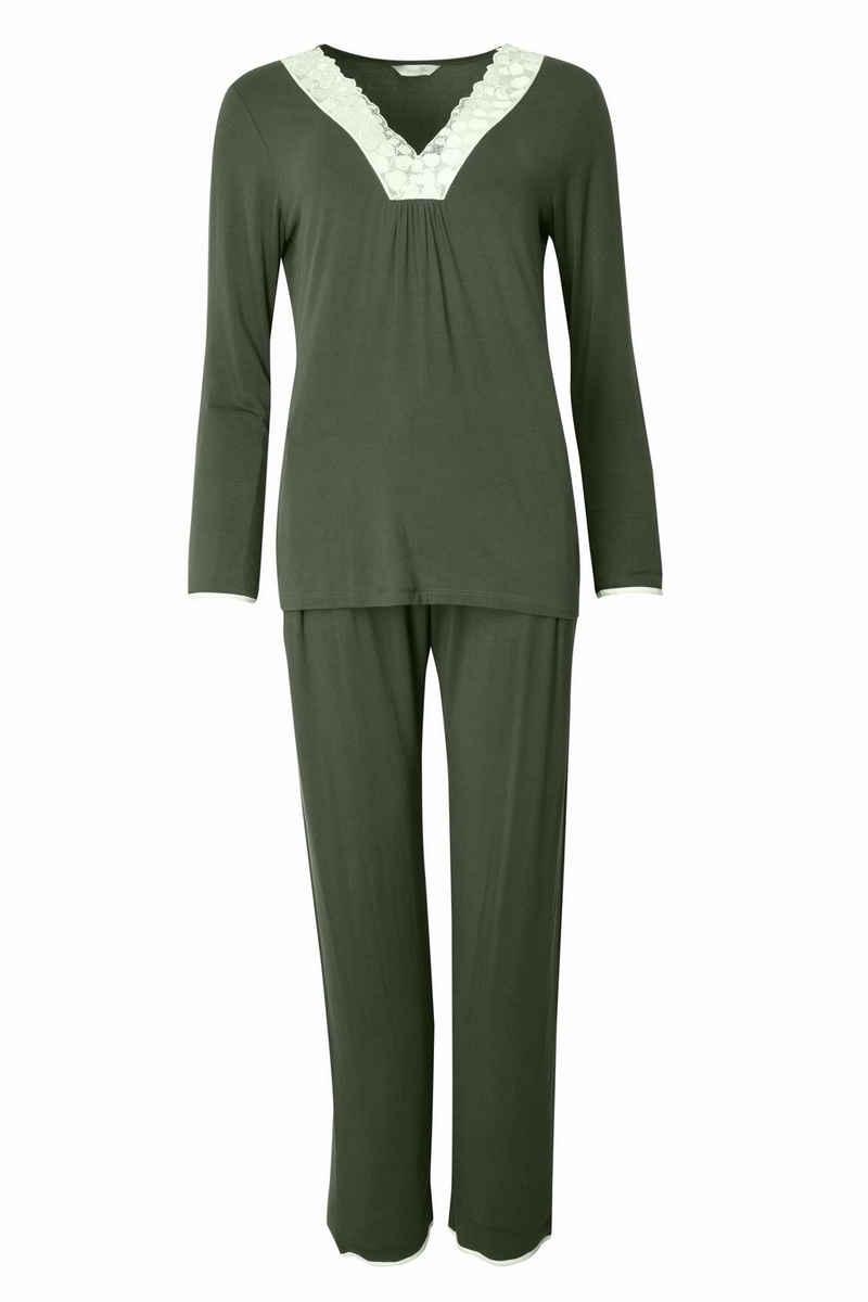 Nora Rose Pyjama »Marilyn Uni« (2 tlg)