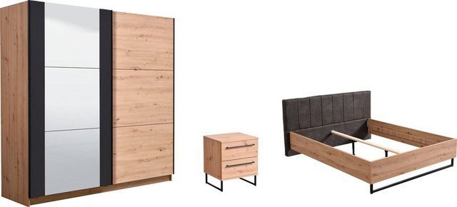 Schlafzimmer Sets - Schlafzimmer Set »Sardinia«, (Set, 4 tlg)  - Onlineshop OTTO