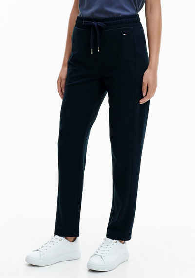 Tommy Hilfiger Sweathose »RELAXED PULL ON ANKLE PANT« mit Tommy-Hilfiger-Logobadge