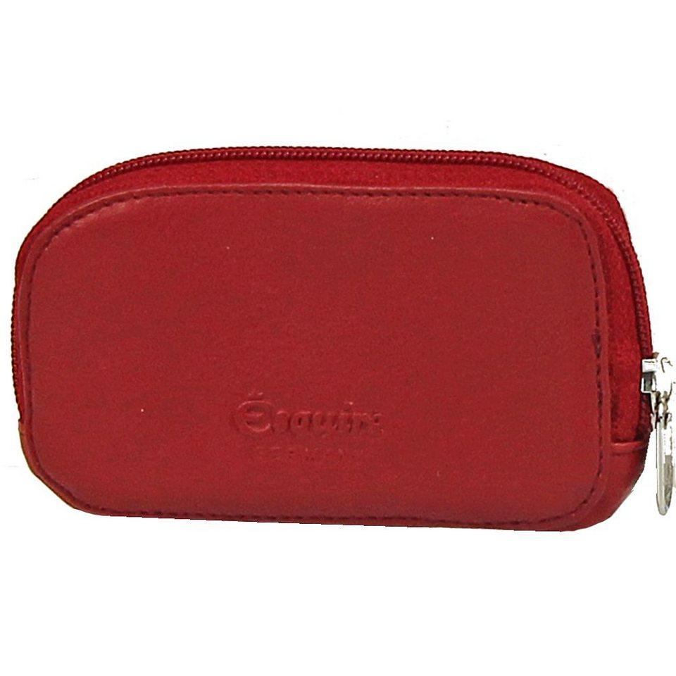 Esquire Logo Schlüsseletui Leder 11 cm in rot