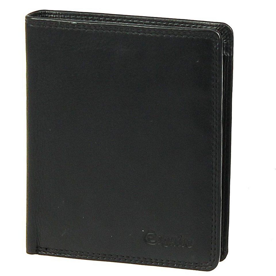 Esquire Silk Geldbörse Leder 10 cm in black