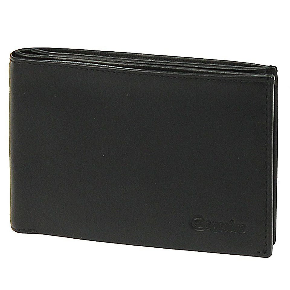Esquire Silk Geldbörse Leder 12 cm in black