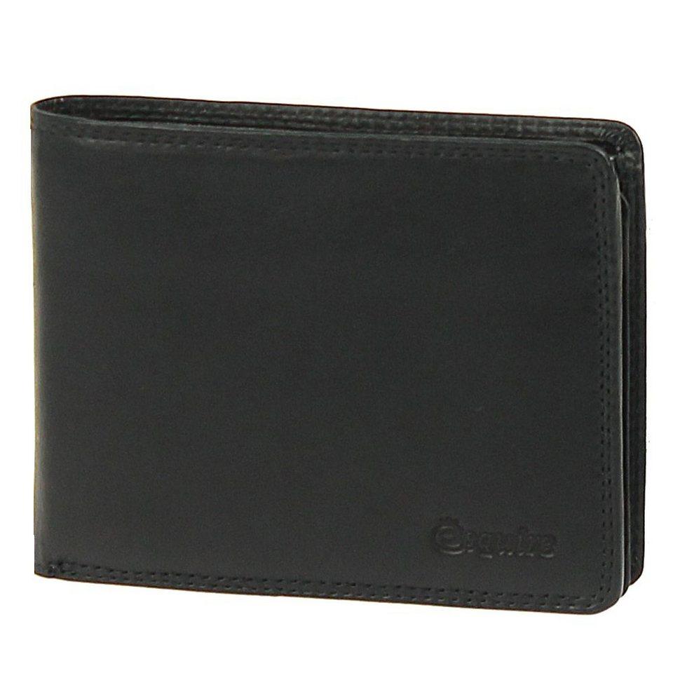 Esquire Silk Geldbörse Leder 12,5 cm in black