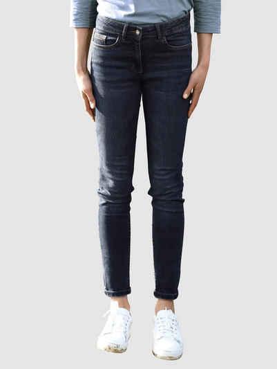 Dress In Skinny-fit-Jeans mit Knopfleiste