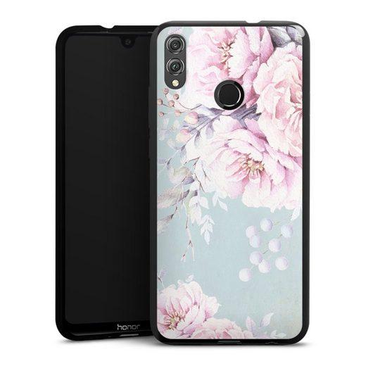 DeinDesign Handyhülle »Watercolour flower« Huawei Honor 8X, Hülle Blume Pastell Utart