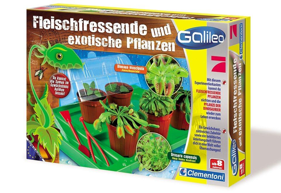 Fleischfressende Pflanzen, Clementoni®, »Galileo«
