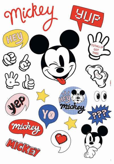 Komar Wandsticker »Ist a Mickey Thing« (Set), 50 x 70 cm (Breite x Höhe) - 21 Sticker