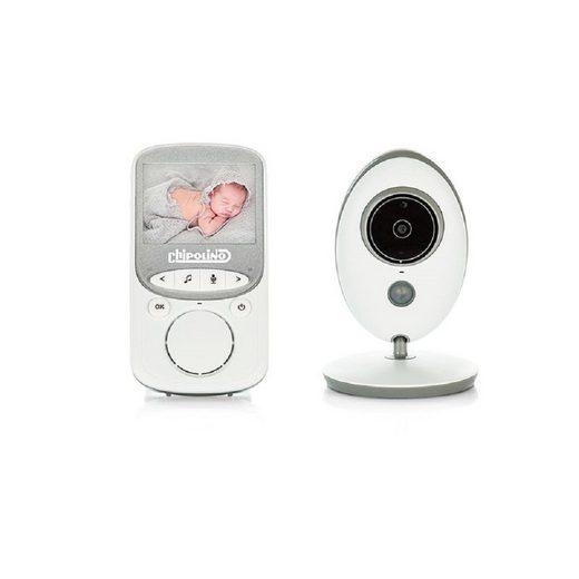 Chipolino Video-Babyphone »Babyphone Vector«, mit Kamera Farbdisplay Nachtsicht Temperaturanzeige