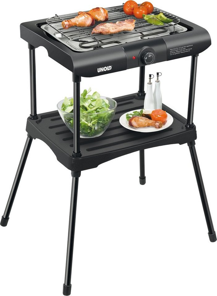 Unold Barbecue-Grill Black Rack 58550 in schwarz