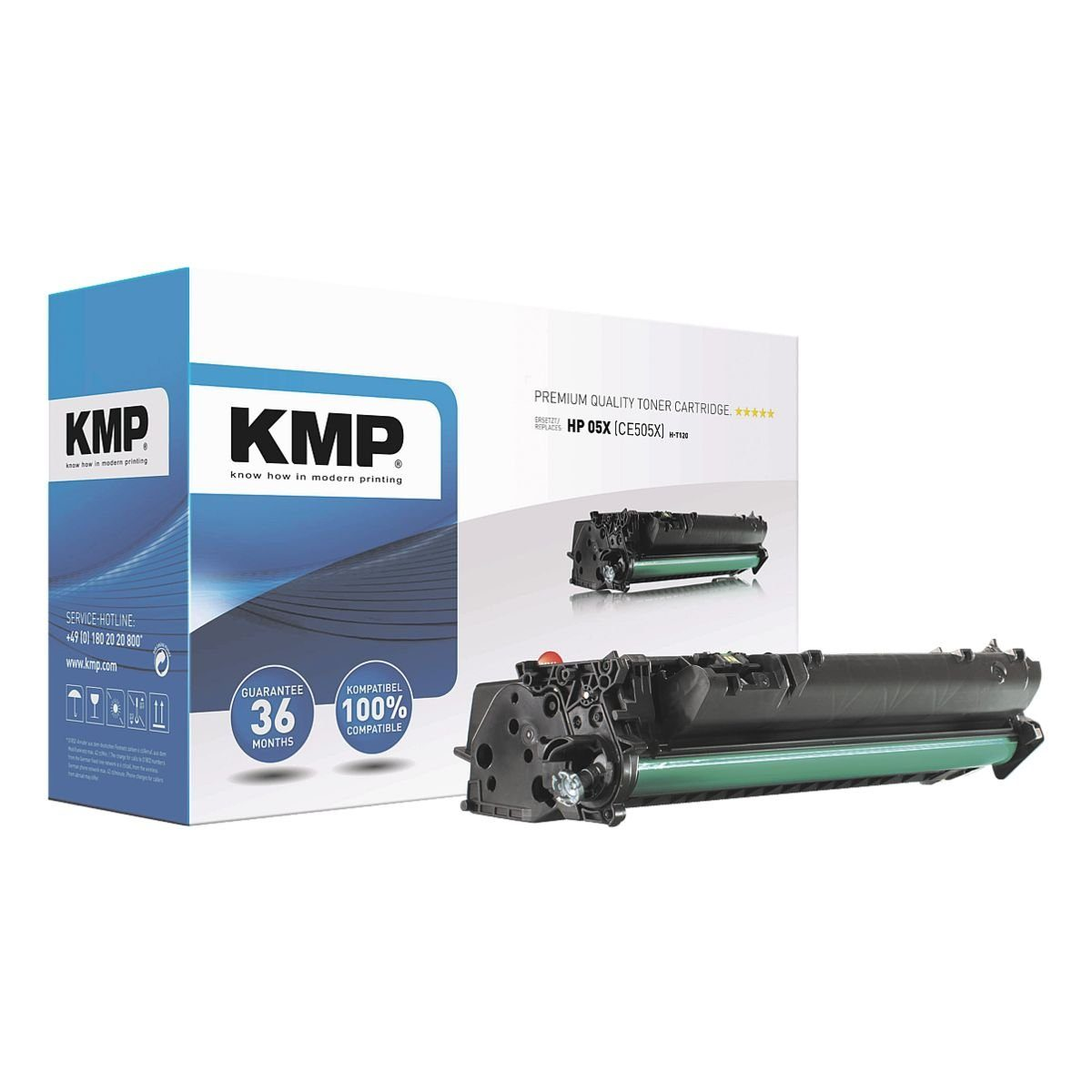 KMP Toner ersetzt HP »CE505XXL« 05X