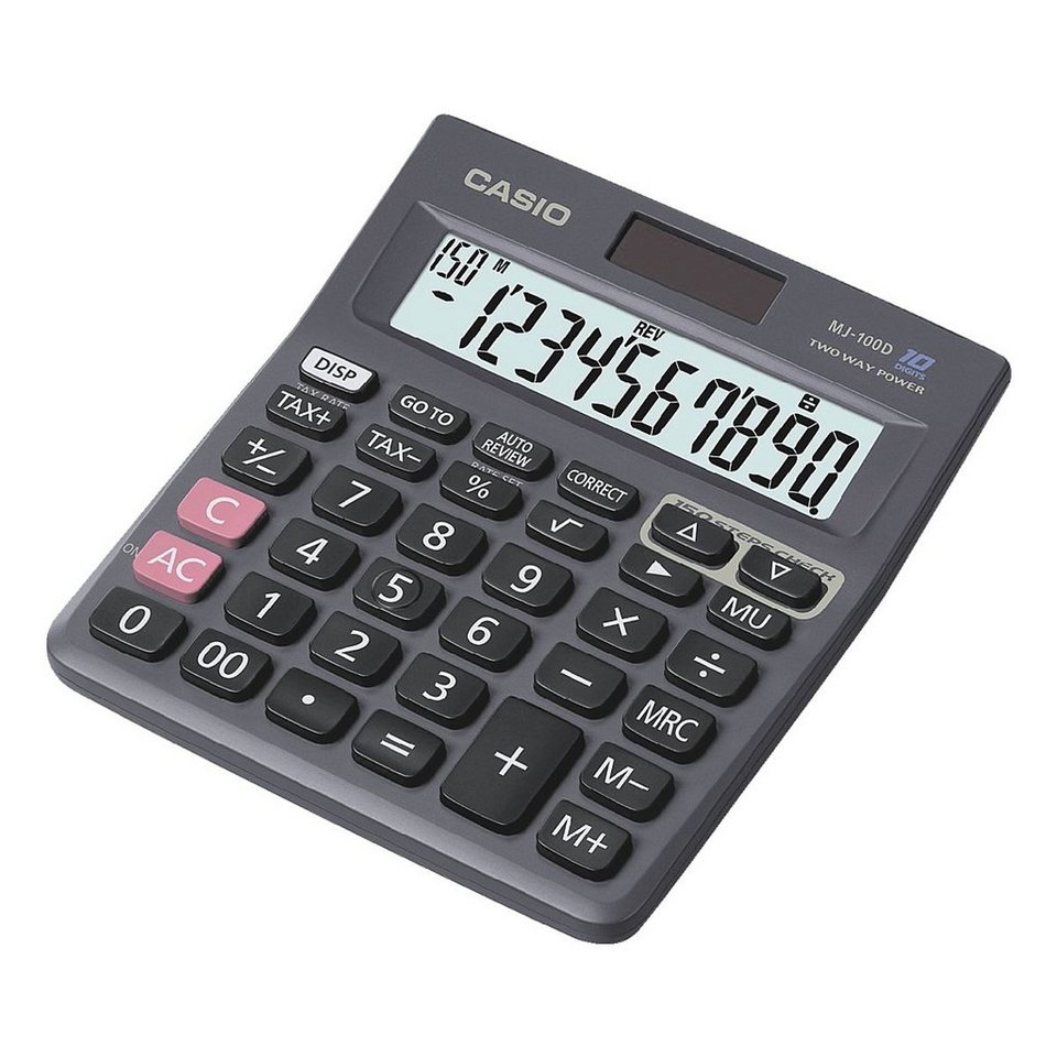 CASIO Tischrechner »MJ-100D«