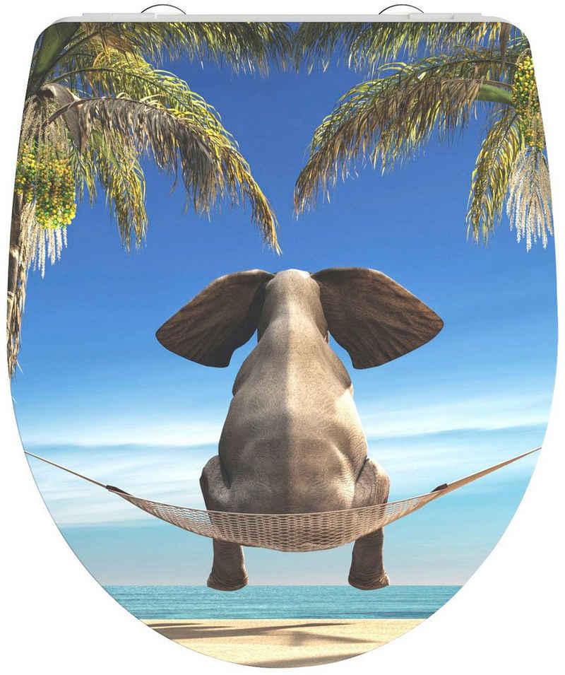 Schütte WC-Sitz »Happy Elephant«, aus Duroplast mit Absenkautomatik