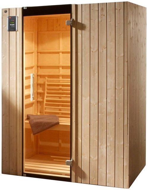 Saunen und Zubehör - weka Infrarotkabine »Ranua 2«, BxTxH 140 x 98 x 190 cm, 58 mm, für bis zu 2 Personen  - Onlineshop OTTO