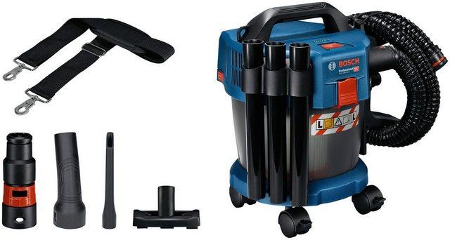 Bosch Professional Nass-Trocken-Akkusauger GAS 18V-10, beutellos, 10 l, inkl. Zubehör, ohne Akku und Ladegerät